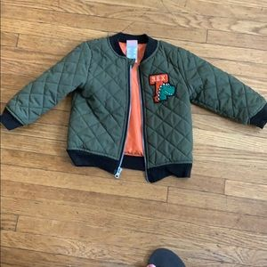Wonder nation green jacket size 18m